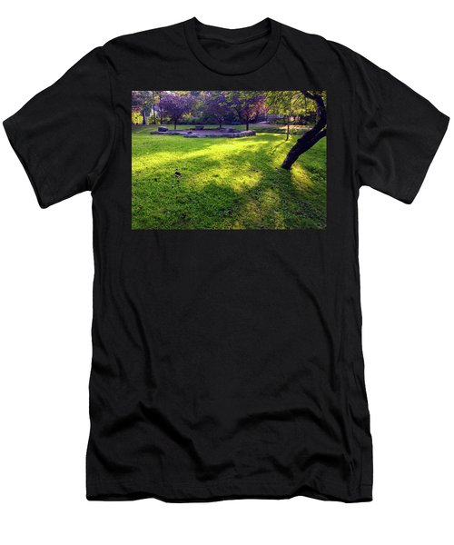 Late Summer Light Men's T-Shirt (Athletic Fit)
