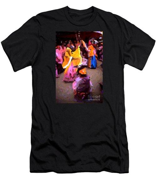 Lathmaar Holi Of Barsana-6 Men's T-Shirt (Athletic Fit)