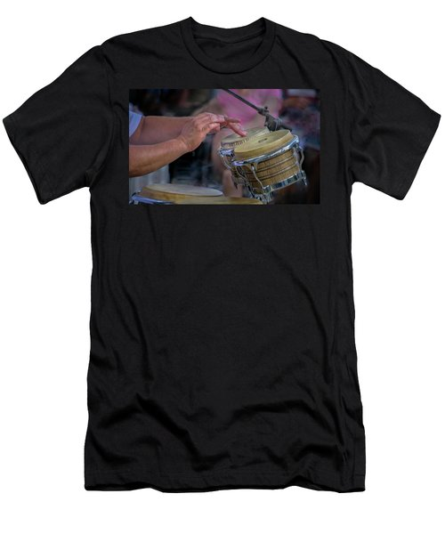 Latin Jazz Musician Men's T-Shirt (Athletic Fit)