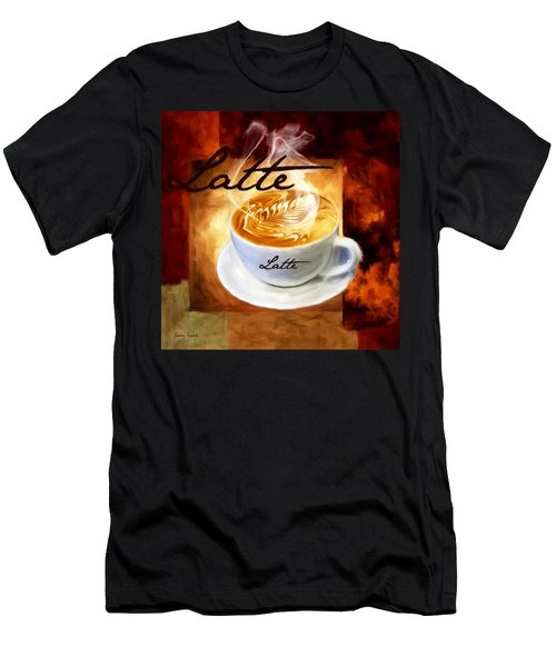 Latte Men's T-Shirt (Athletic Fit)