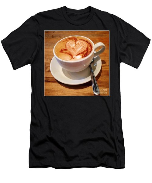 Latte Love Men's T-Shirt (Athletic Fit)