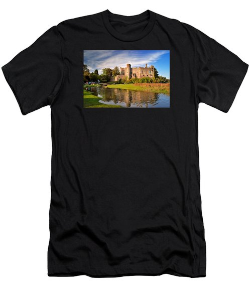 Laugharne Castle 1 Men's T-Shirt (Athletic Fit)