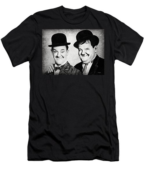 Laurel And Hardy My Pal Men's T-Shirt (Athletic Fit)