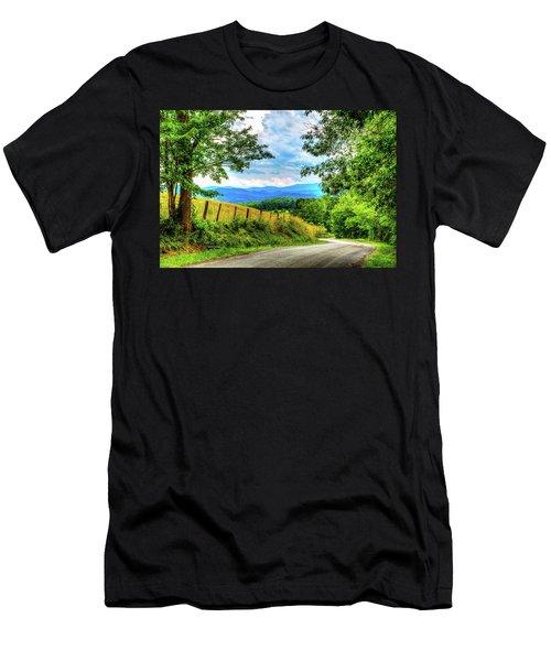 Laurel Hill View Men's T-Shirt (Athletic Fit)