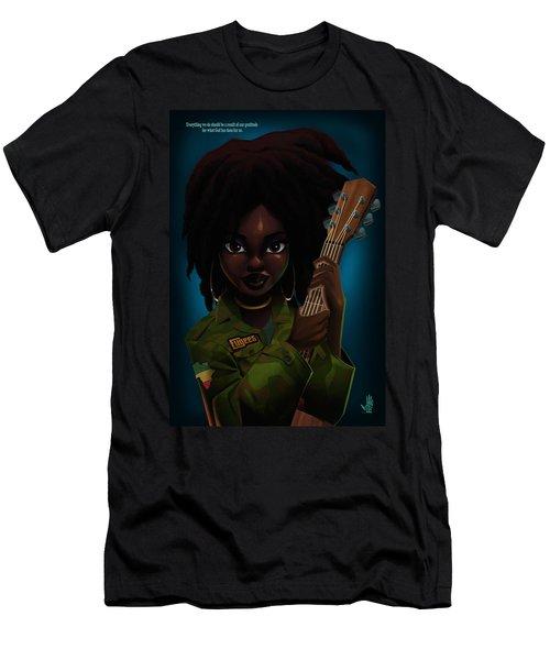 Lauryn Hill Men's T-Shirt (Athletic Fit)