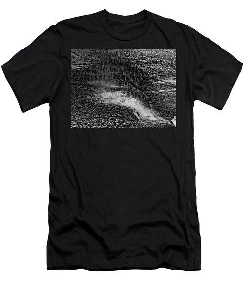 Lava Falls Men's T-Shirt (Slim Fit) by Michael Bessler