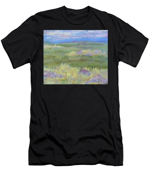 Lavender And Wheat Men's T-Shirt (Athletic Fit)