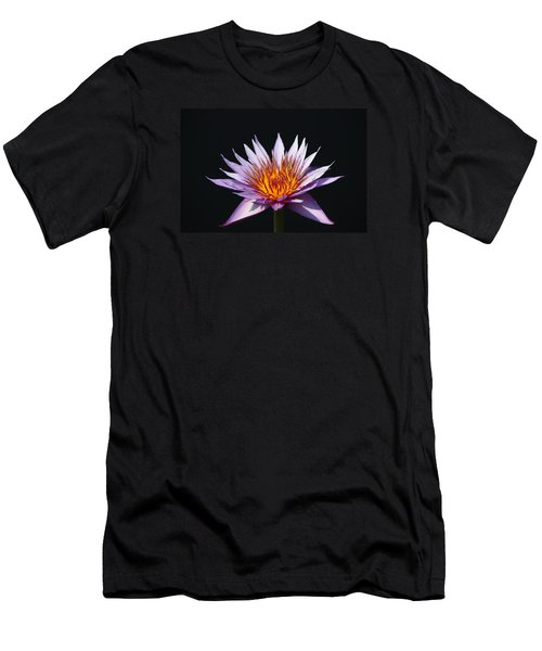 Lavender Fire 1 Men's T-Shirt (Athletic Fit)