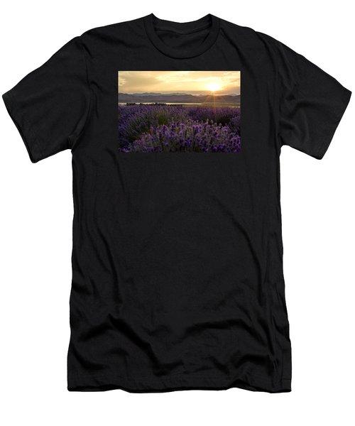 Lavender Glow Men's T-Shirt (Slim Fit) by Chad Dutson