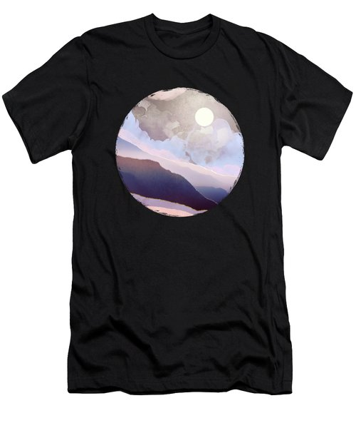 Lavender Night Men's T-Shirt (Athletic Fit)