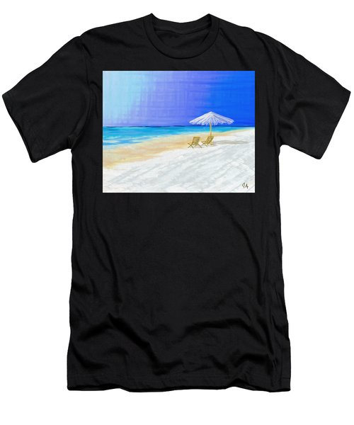 Lawn Chairs In Paradise Men's T-Shirt (Athletic Fit)