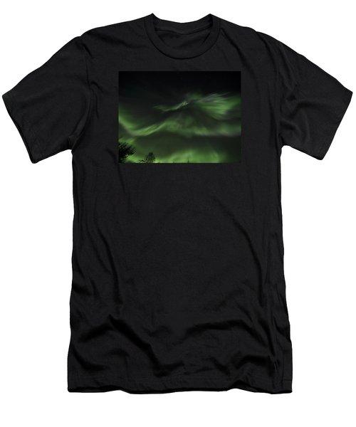 Layered Corona Men's T-Shirt (Athletic Fit)