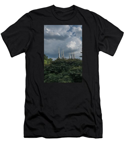 Lds Storm Clouds Men's T-Shirt (Athletic Fit)