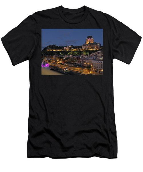 Le Chateau Frontenac  Men's T-Shirt (Athletic Fit)