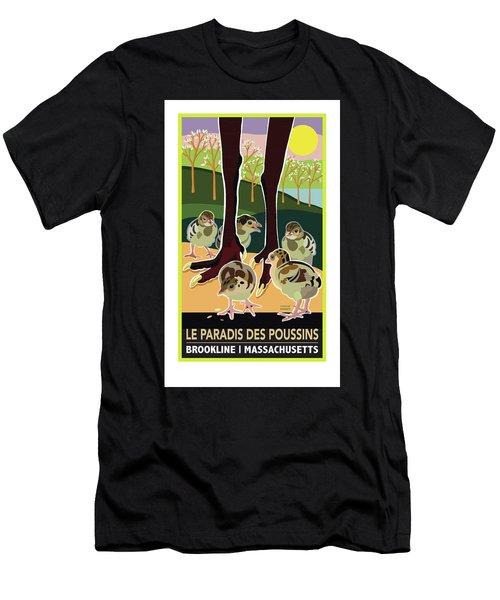 Le Paradis Des Poussins Men's T-Shirt (Athletic Fit)