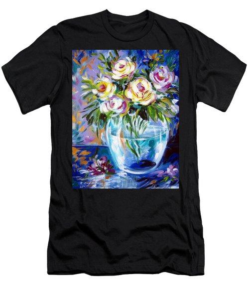 Le Rose Bianche Men's T-Shirt (Athletic Fit)