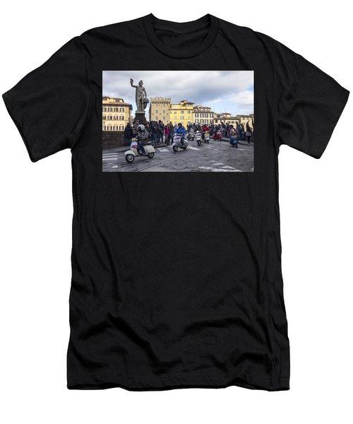 Vespe Di Firenze Men's T-Shirt (Athletic Fit)