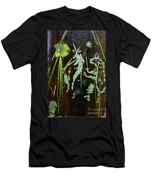 Leaf Art Men's T-Shirt (Athletic Fit)