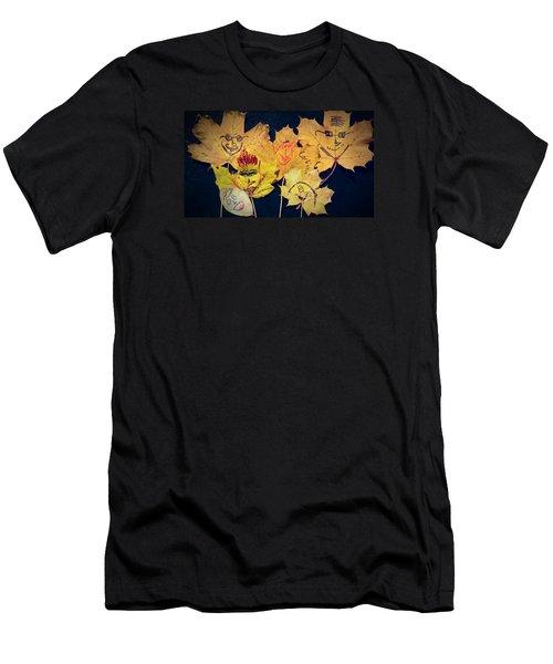 Leaf Family Men's T-Shirt (Athletic Fit)