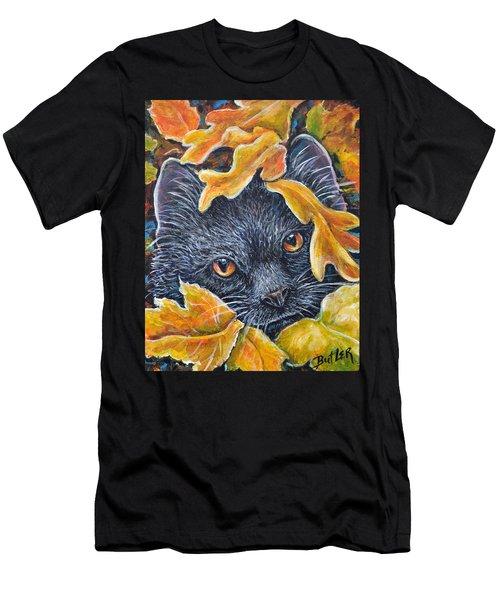 Leaf Jumper Men's T-Shirt (Athletic Fit)