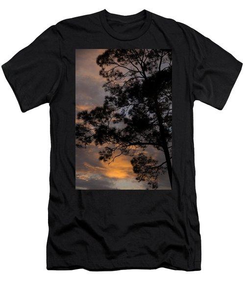 Lean Into The Light Men's T-Shirt (Athletic Fit)
