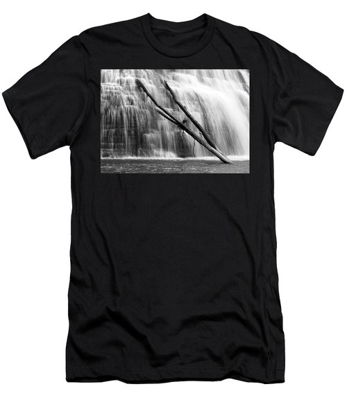 Leaning Falls Men's T-Shirt (Athletic Fit)