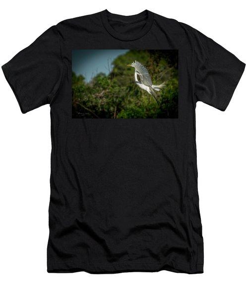 Leap Of Faith Men's T-Shirt (Athletic Fit)