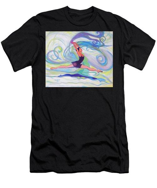 Leap Of Joy Men's T-Shirt (Athletic Fit)