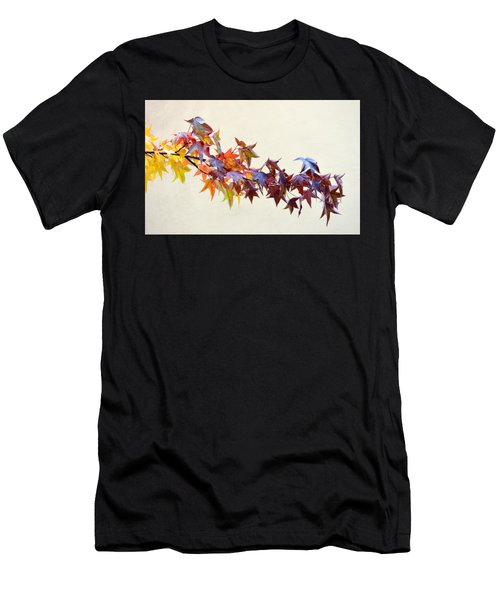 Leaves Of Many Colors Men's T-Shirt (Athletic Fit)