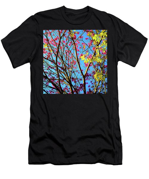 Leaves And Trees 980 Men's T-Shirt (Athletic Fit)