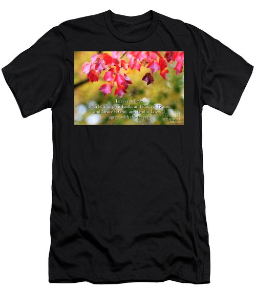 Leaves Believe Men's T-Shirt (Athletic Fit)
