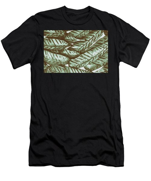 Leaves No. 3-1 Men's T-Shirt (Athletic Fit)