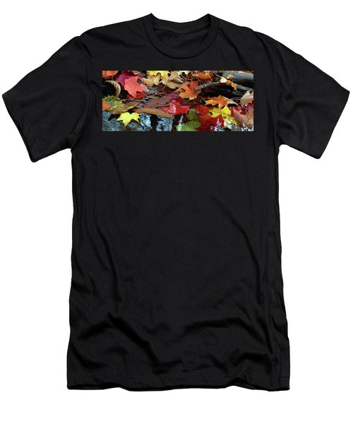 Leaves Of Color Men's T-Shirt (Athletic Fit)