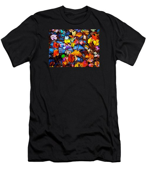 Leaves Of Colors  Men's T-Shirt (Athletic Fit)