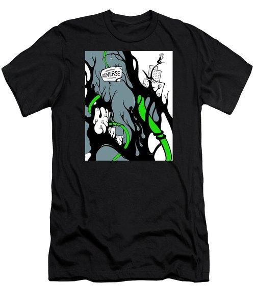 Leaving Adversity Men's T-Shirt (Athletic Fit)