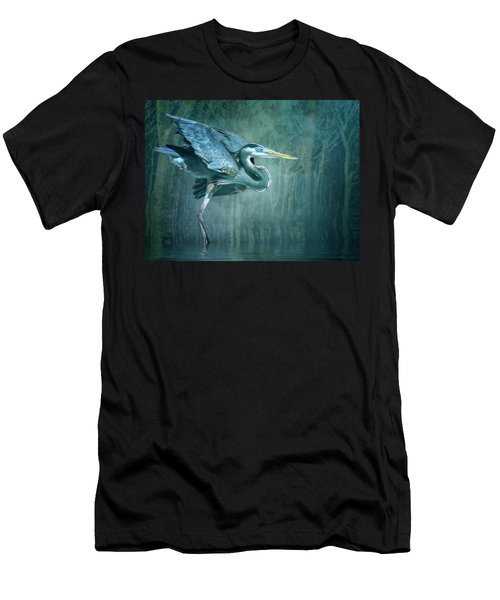 Leaving The Lake Men's T-Shirt (Athletic Fit)