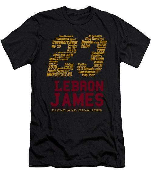 Lebron 23 Men's T-Shirt (Slim Fit) by Augen Baratbate
