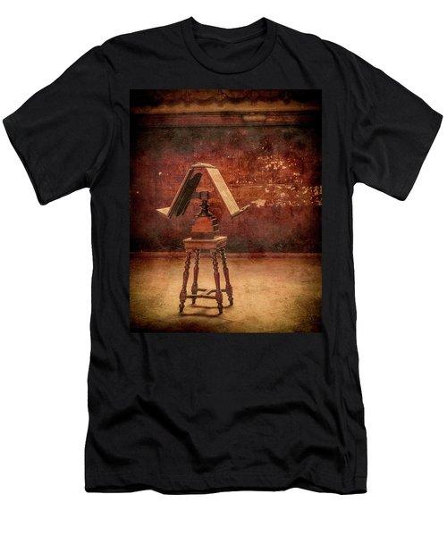 Paris, France - Lectern Men's T-Shirt (Athletic Fit)