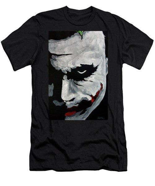 Ledger's Joker Men's T-Shirt (Athletic Fit)