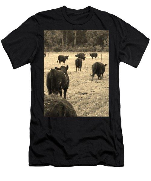 Left Behind,la. Men's T-Shirt (Athletic Fit)
