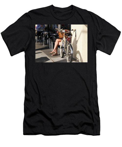 Leg Power - On Montana Avenue Men's T-Shirt (Athletic Fit)
