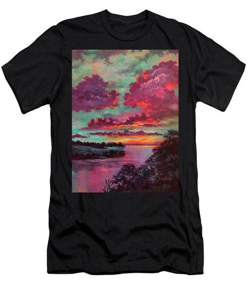 Legend Of A Sunset Men's T-Shirt (Athletic Fit)