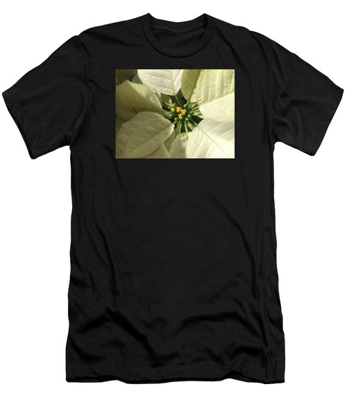 Legend Of The Poinsettia  Men's T-Shirt (Athletic Fit)