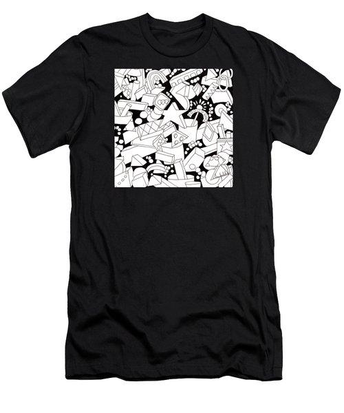Lego-esque Men's T-Shirt (Slim Fit) by Lou Belcher