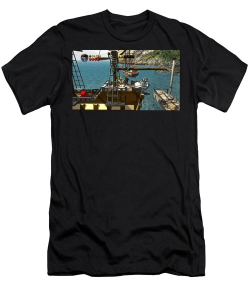 Lego Pirates Of The Caribbean The Video Game Men's T-Shirt (Athletic Fit)