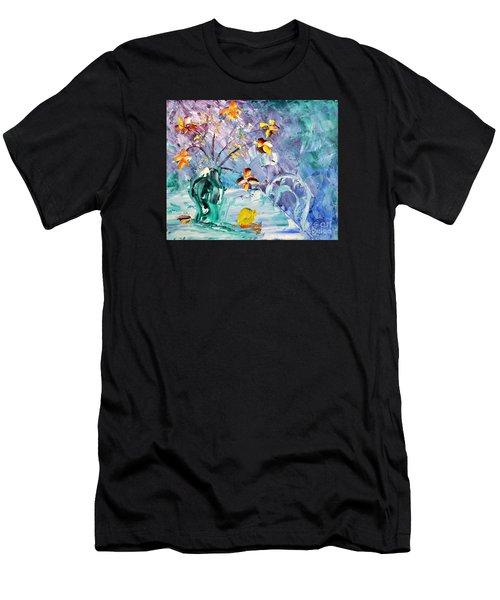 Lemon For Tea Men's T-Shirt (Athletic Fit)