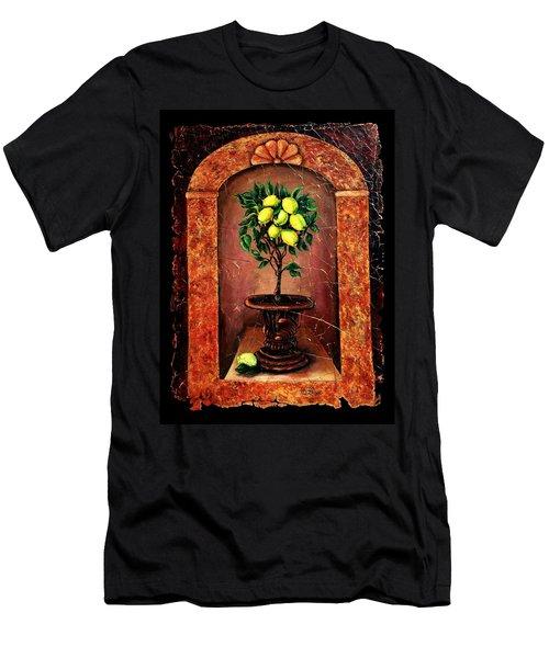 Lemon Tree Men's T-Shirt (Slim Fit)