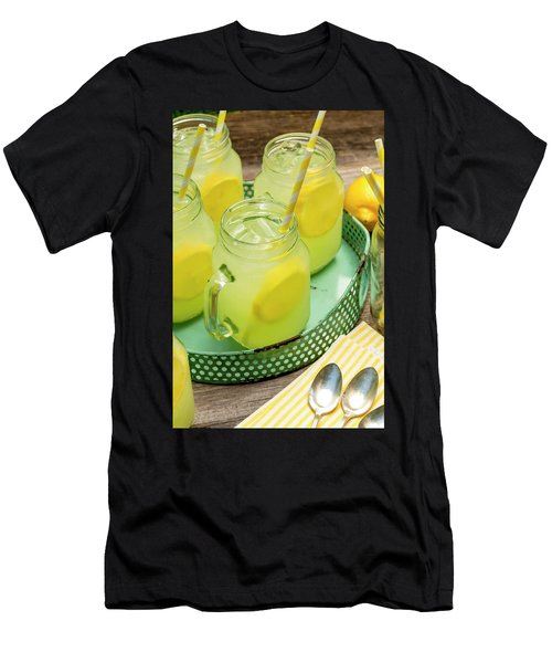 Lemonade In Blue Tray Men's T-Shirt (Athletic Fit)