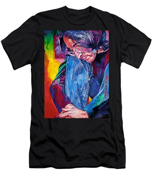 Lennon In Repose Men's T-Shirt (Athletic Fit)