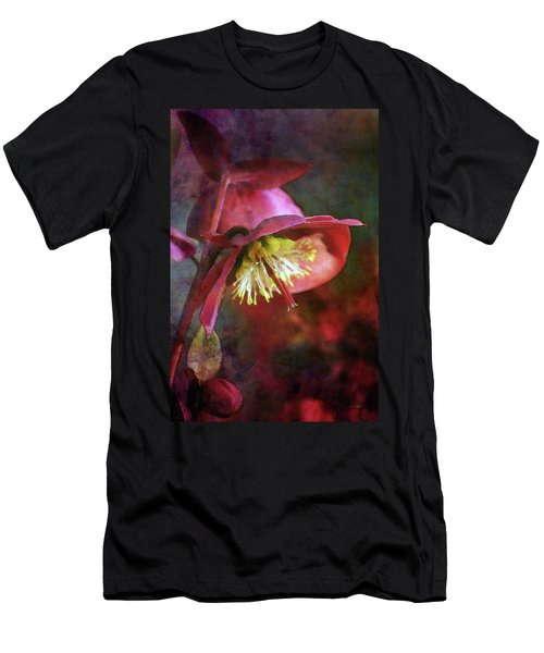 Lenten Rose Bowing To The Sun 8712 Idp_2 Men's T-Shirt (Athletic Fit)
